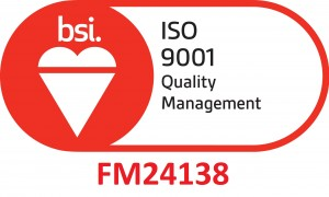 BSI-Assurance-Mark-ISO-9001-Red with cert number
