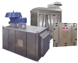 Filter Units for the removal of CO2
