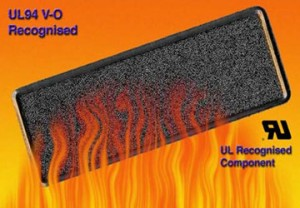 UL94 V-0 Recognised Flame Retardant Air Filter